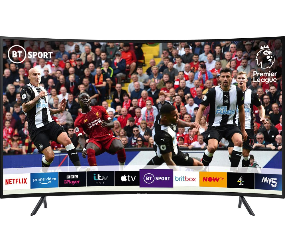 "65"" SAMSUNG UE65RU7300KXXU Smart 4K Ultra HD HDR Curved LED TV"