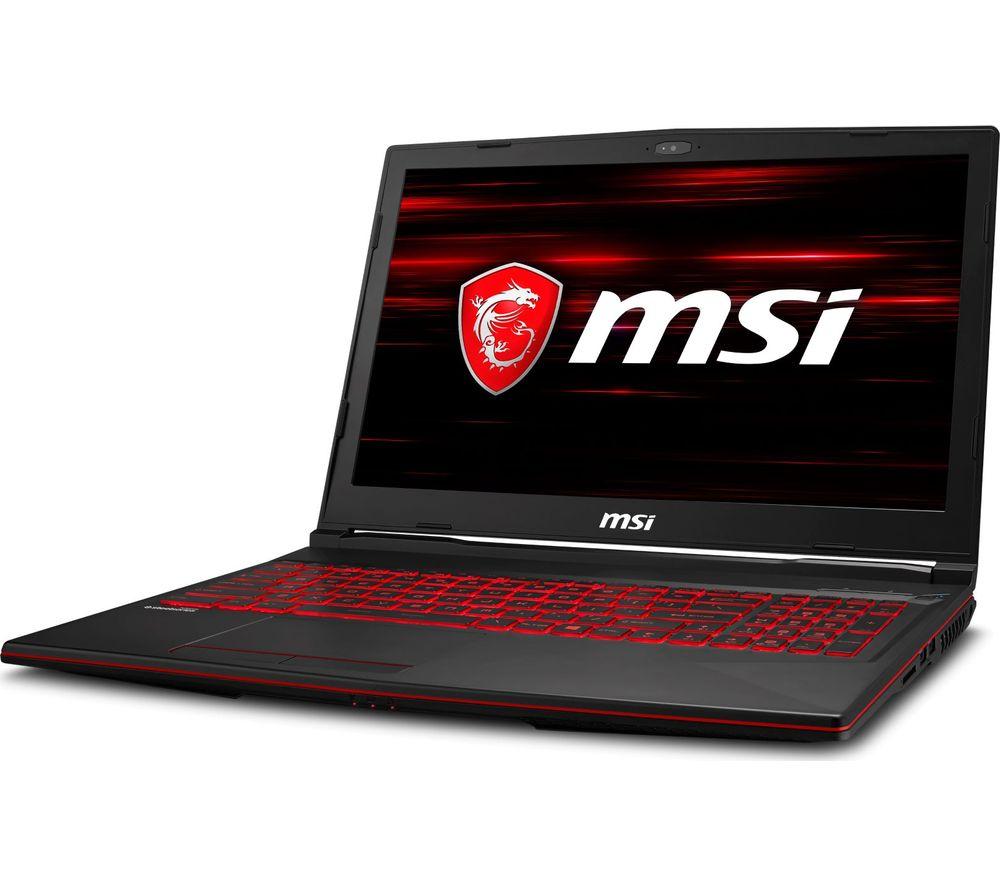 "MSI GL63 8SE-093UK 15.6"" Intel® Core™ i7 RTX 2060 Gaming Laptop - 1 TB HDD & 128 GB SSD"