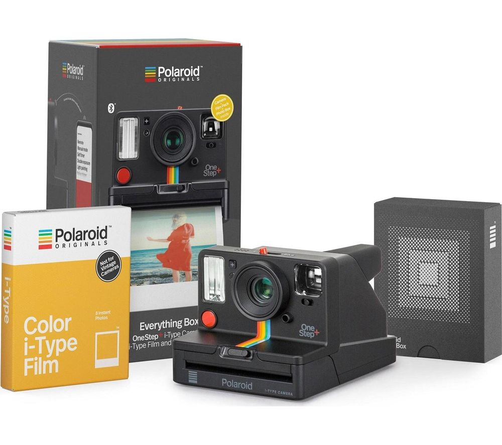 POLAROID OneStep + Instant Camera Everything Box - Graphite