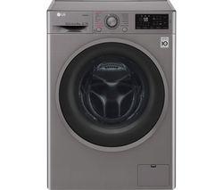LG F4J609SS NFC 9 kg 1400 Spin Washing Machine - Graphite