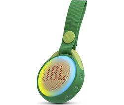 JBL JR POP Portable Bluetooth Speaker - Green