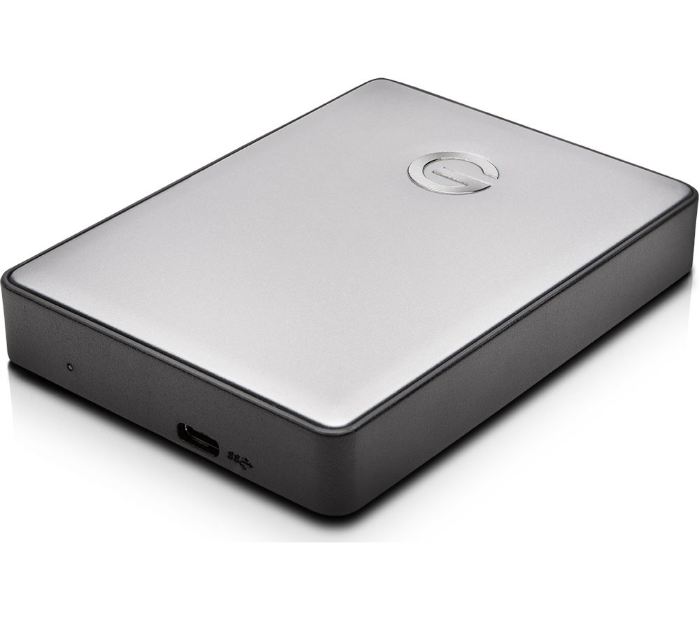 G-TECHNOLOGY G-DRIVE Mobile Portable Hard Drive - 2 TB, Space Grey