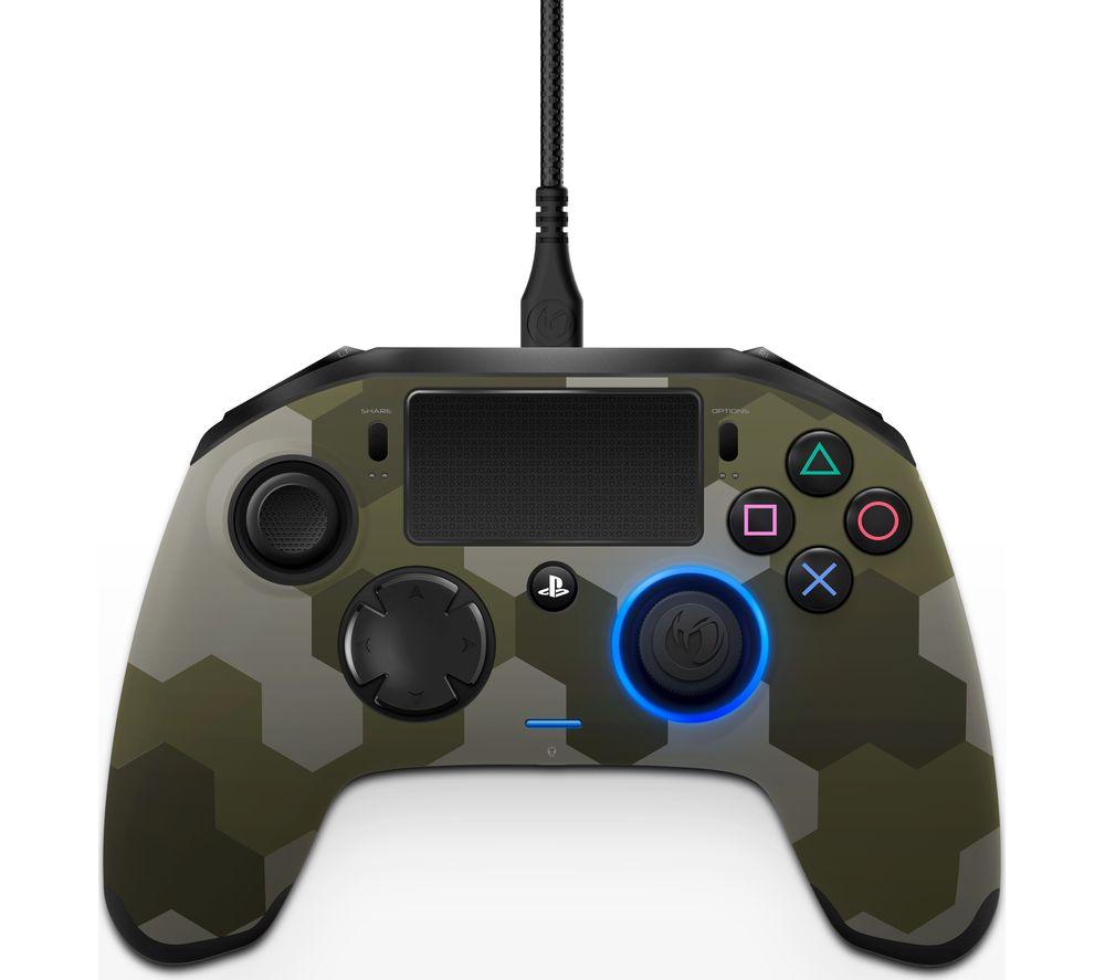 NACON Revolution Pro PS4 Controller - Camo Green, Green