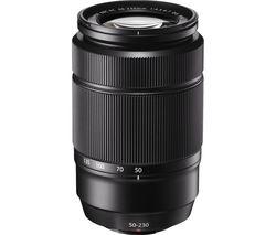 Fujinon XC 50-230 mm f/4.5-6.7 OIS II Telephoto Zoom Lens - Black