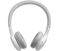 JBL Live 400BT LIVE400BTWHT Wireless Bluetooth Headphones - White