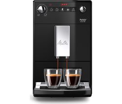 MELITTA Purista F230-102 Bean to Cup Coffee Machine - Black Best Price, Cheapest Prices