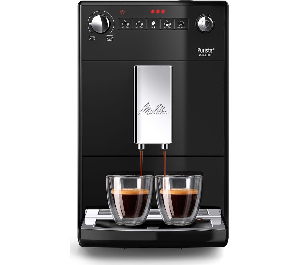 MELITTA Purista F230-102 Bean to Cup Coffee Machine - Black