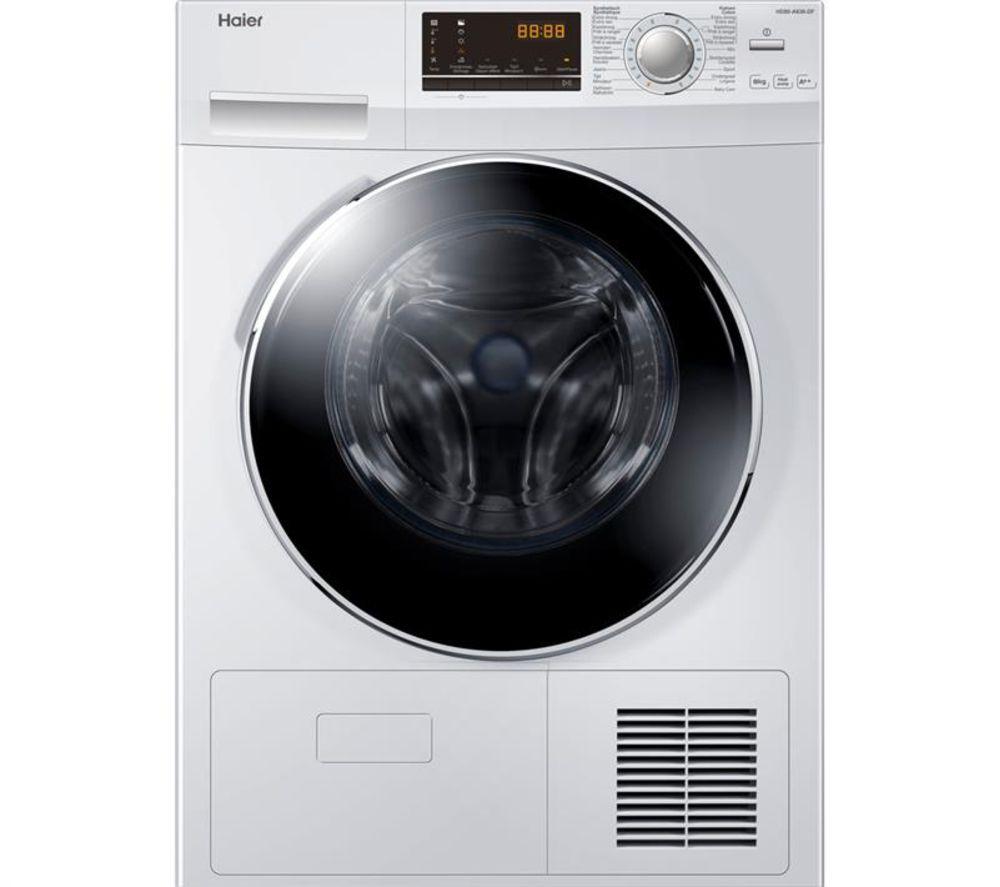 HAIER HD90-A636 9 kg Heat Pump Tumble Dryer – White