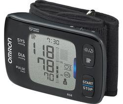 RS8 Smart Wrist Blood Pressure Monitor - Black