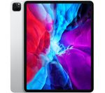 £1069, APPLE 12.9inch iPad Pro (2020) - 256 GB, Silver, iPadOS, Liquid Retina display, 256GB storage: Perfect for saving pretty much everything, Battery life: Up to 10 hours, Compatible with Apple Pencil (2nd generation) / Magic Keyboard / Smart Keyboard Folio,