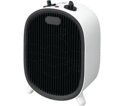C20FHW20 Fan Heater - Black & White