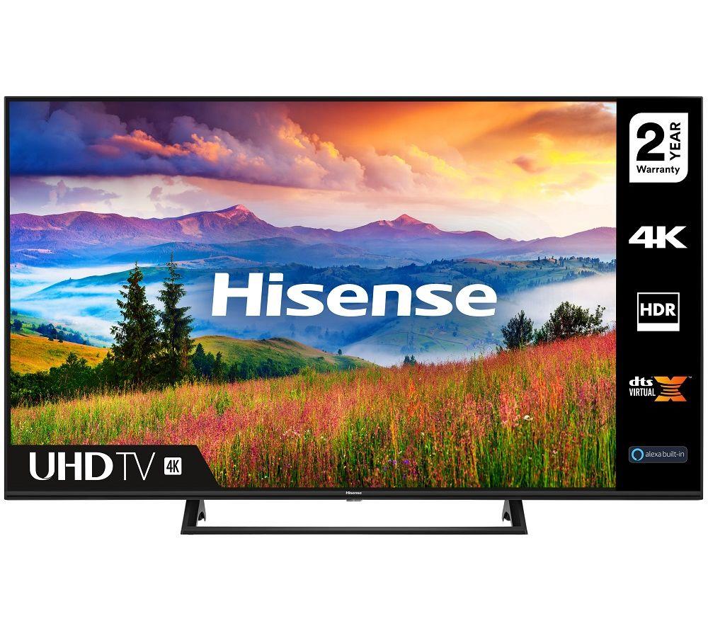 50 inch HISENSE 50A7300FTUK  Smart 4K Ultra HD HDR LED TV with Amazon Alexa