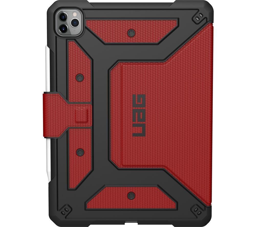 """UAG Metropolis 12.9"""" iPad Pro Case - Magma"""