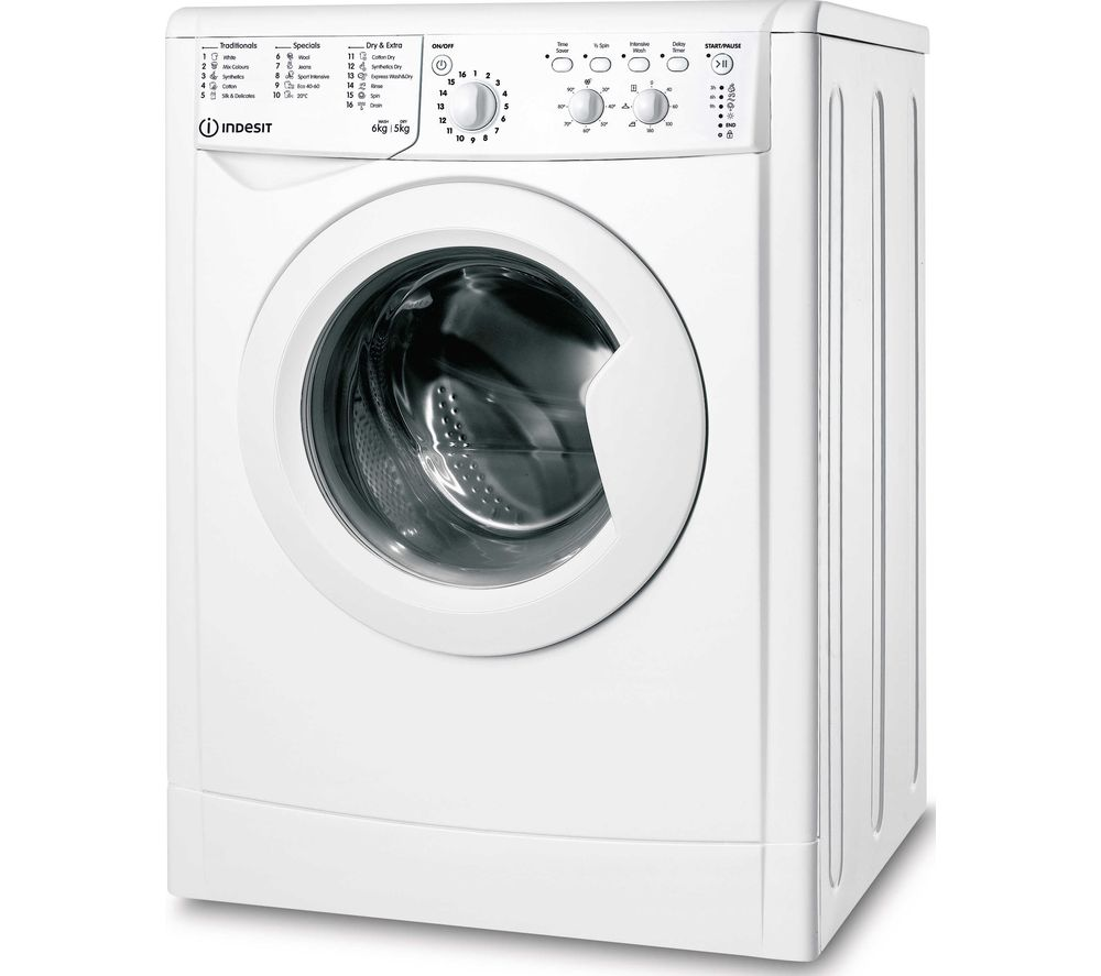 INDESIT Ecotime IWDC 65125 6 kg Washer Dryer - White