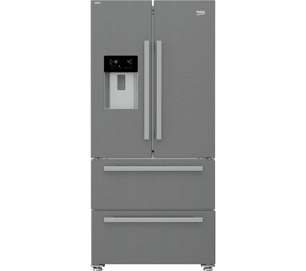 BEKO HarvestFresh GNE360520DX Fridge Freezer - Stainless Steel