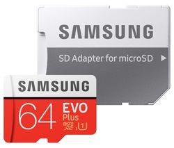 Evo Plus Class 10 microSD Memory Card - 64 GB
