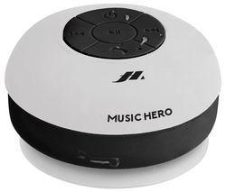 Music Hero Octopump Portable Bluetooth Speaker - Ice White
