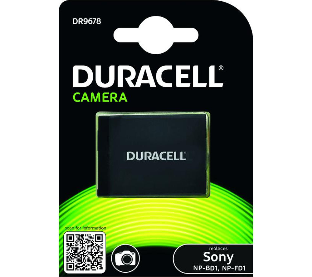 DURACELL DR9678 Lithium-ion Camera Battery