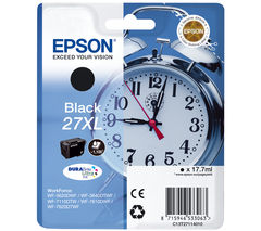 Alarm Clock 27XL Black Ink Cartridge