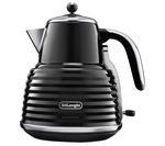 DELONGHI Scultura KBZ3001BK Jug Kettle - Black