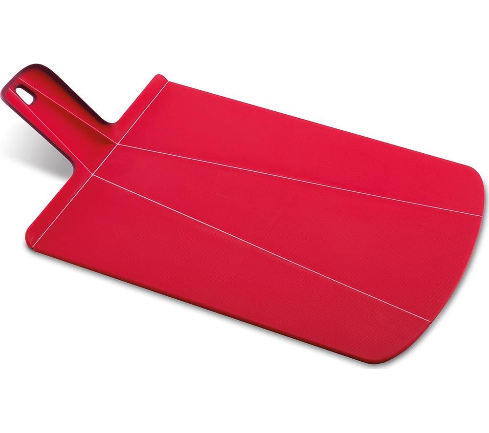 JOSEPH JOSEPH Chop2Pot Plus Large Chopping Board - Red