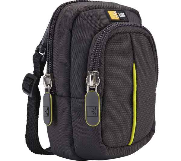Image of CASE LOGIC DCB302GY Compact Camera Case - Anthracite