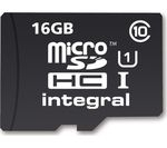 INTEGRAL UltimaPro High Performance Class 10 microSD Memory Card - 16 GB