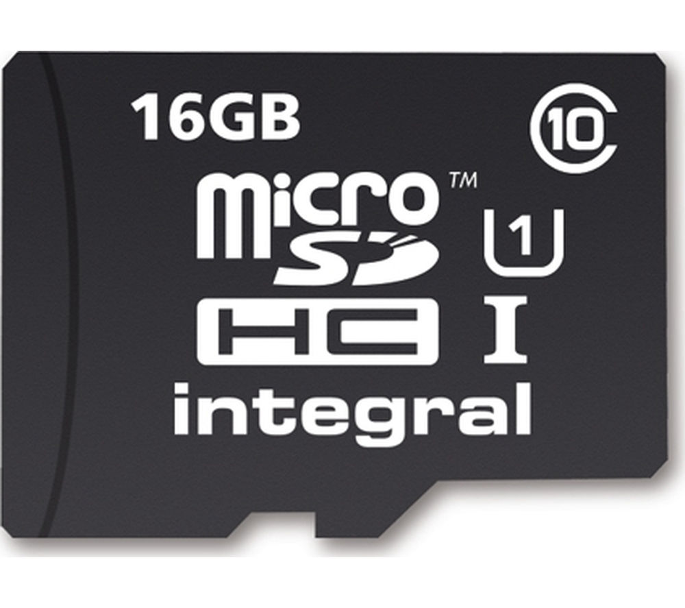 integral ultimapro class 10 microsd memory card 16 gb deals pc world. Black Bedroom Furniture Sets. Home Design Ideas