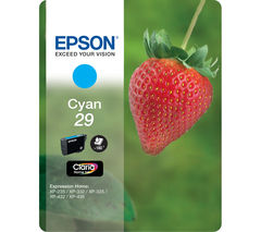 EPSON Strawberry 29 Cyan Ink Cartridge
