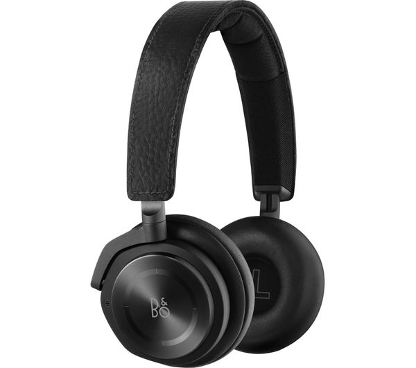 Image of B&O Beoplay H8 Wireless Bluetooth Noise-Cancelling Headphones - Black