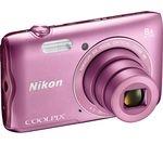 NIKON COOLPIX A300 Compact Camera - Pink