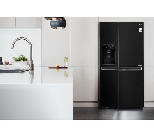 buy lg gsl760wbxv american style fridge freezer black. Black Bedroom Furniture Sets. Home Design Ideas