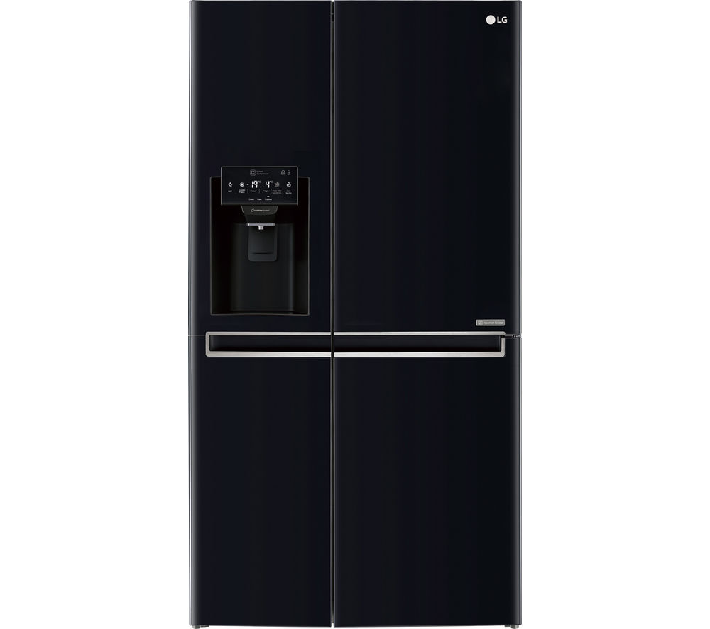 buy lg gsl760wbxv american style fridge freezer black. Black Bedroom Furniture Sets. Home Design Ideas