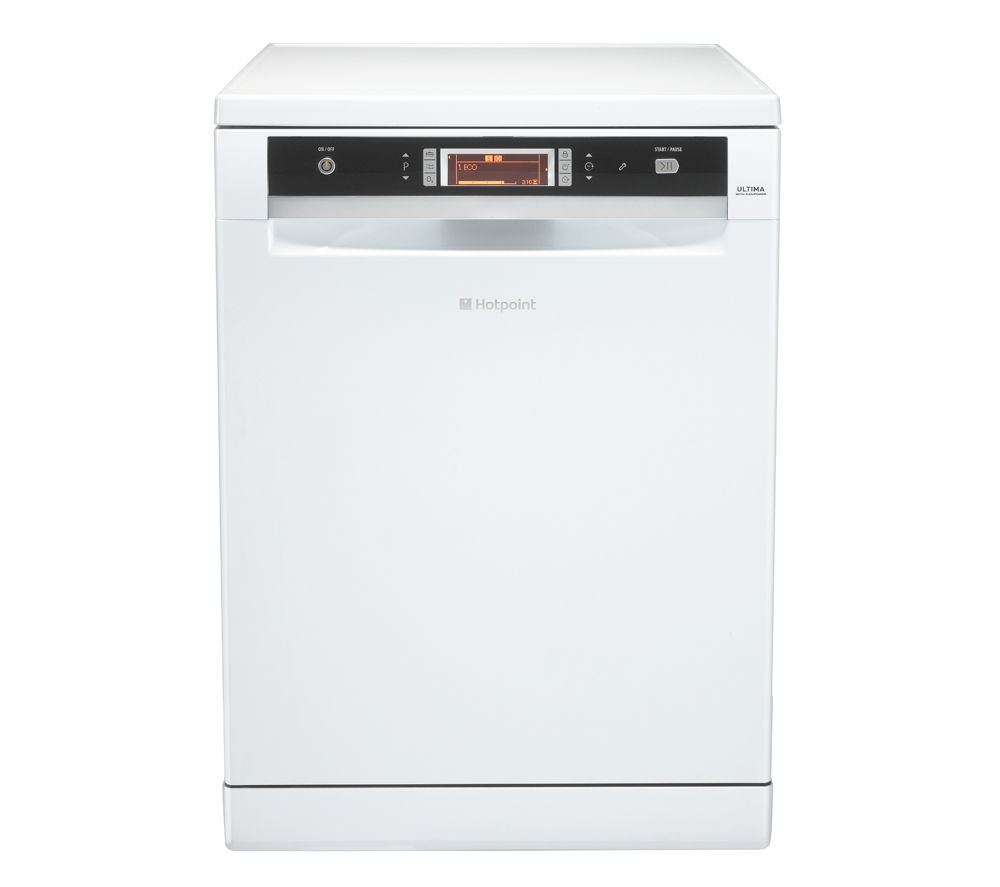 HOTPOINT  Ultima FDUD 43133P Full-size Dishwasher – White, White