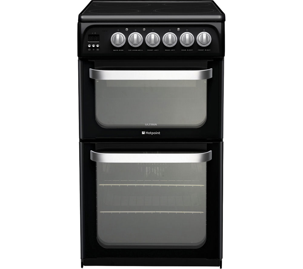 Compare prices for Hotpoint HUE52KS Electric Ceramic Cooker