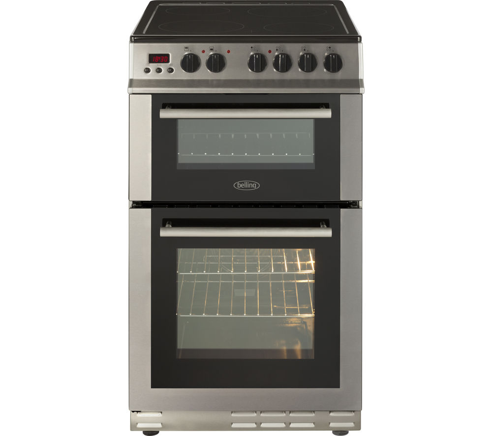 Compare retail prices of Belling BEL FS50EDOPC 50cm Electric Ceramic Cooker to get the best deal online