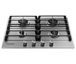 SAMSUNG NA64H3010AS/EU Gas Hob - Stainless Steel