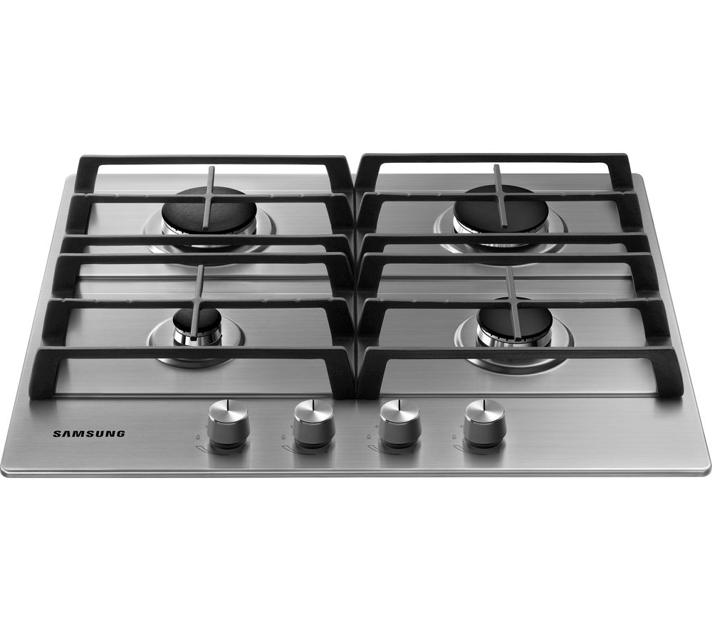 SAMSUNG NA64H3010AS/EU Gas Hob - Stainless Steel