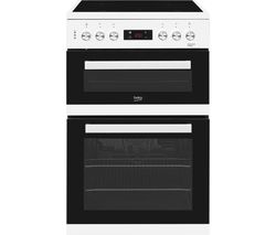 BEKO KDC653W 60 cm Electric Ceramic Cooker - White