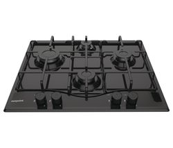 PCN 642 /H(BK) Gas Hob - Black