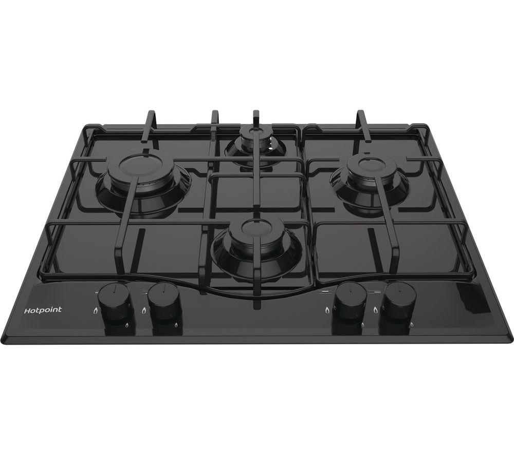 HOTPOINT PCN 642 /H(BK) Gas Hob - Black