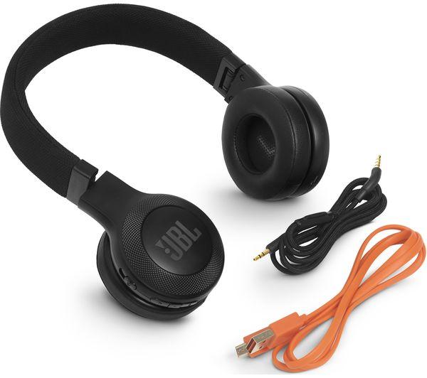 1b13a4bb025 JBL E45BT Wireless Bluetooth Headphones - Black Fast Delivery | Currysie