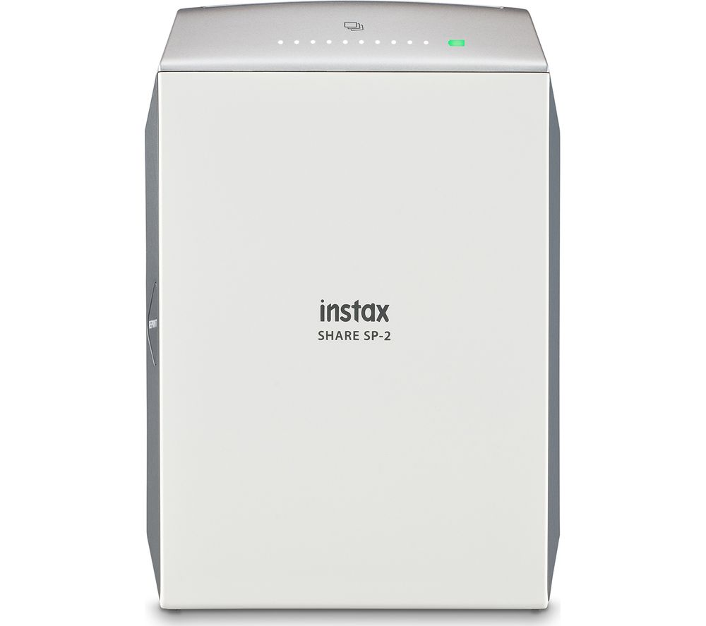 INSTAX Share SP-2 Photo Printer & 10 Shot Bundle - Silver