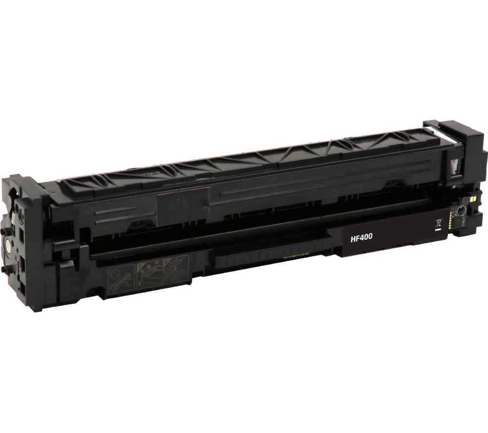 ESSENTIALS Remanufactured CF400A Black HP Toner Cartridge