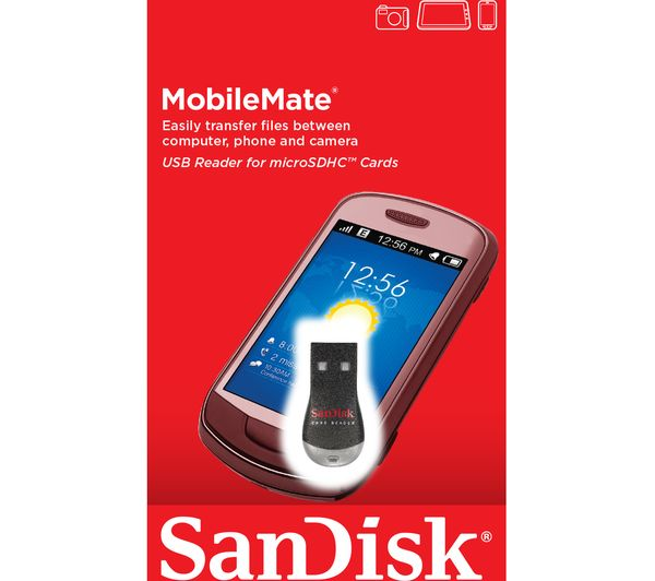 how to read a sandisk extreme card reader