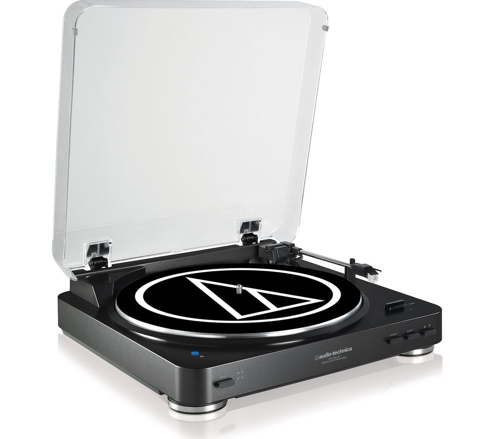 AUDIO TECHNICA AT-LP60BT Belt Drive Bluetooth Turntable - Black