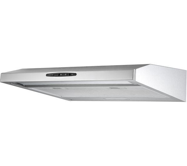 buy essentials c60shdx17 visor cooker hood stainless. Black Bedroom Furniture Sets. Home Design Ideas