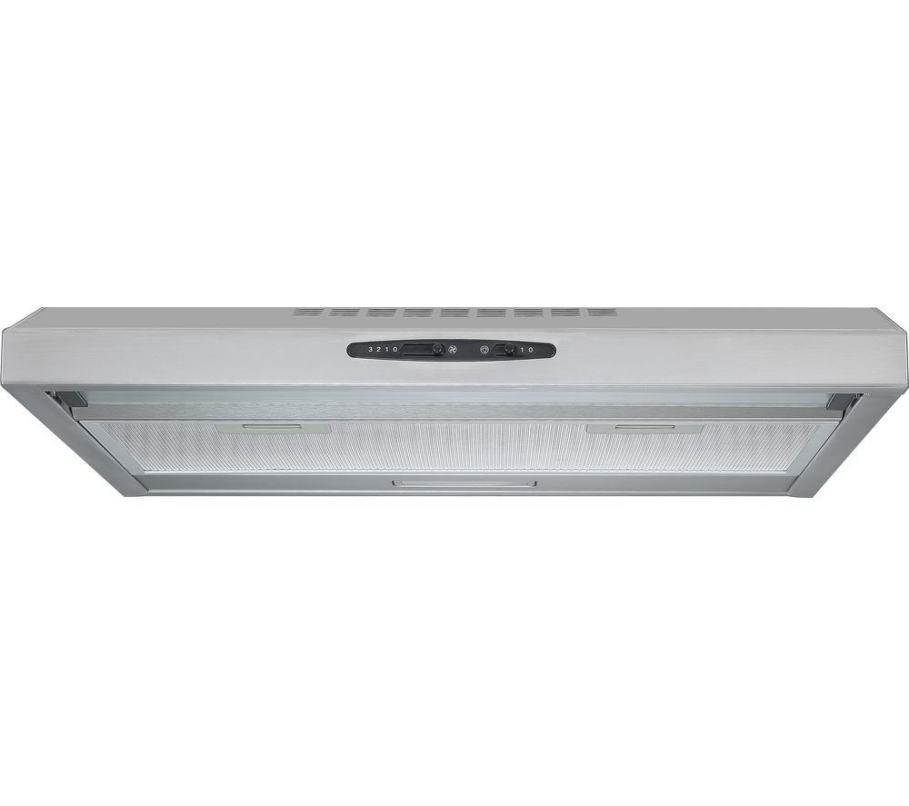 ESSENTIALS C60SHDX17 Visor Cooker Hood - Stainless Steel