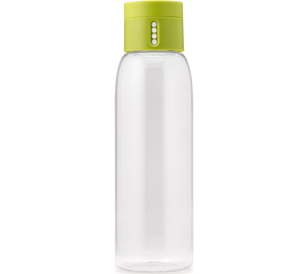 JOSEPH JOSEPH Dot Hydration Tracking 600 ml Water Bottle - Green