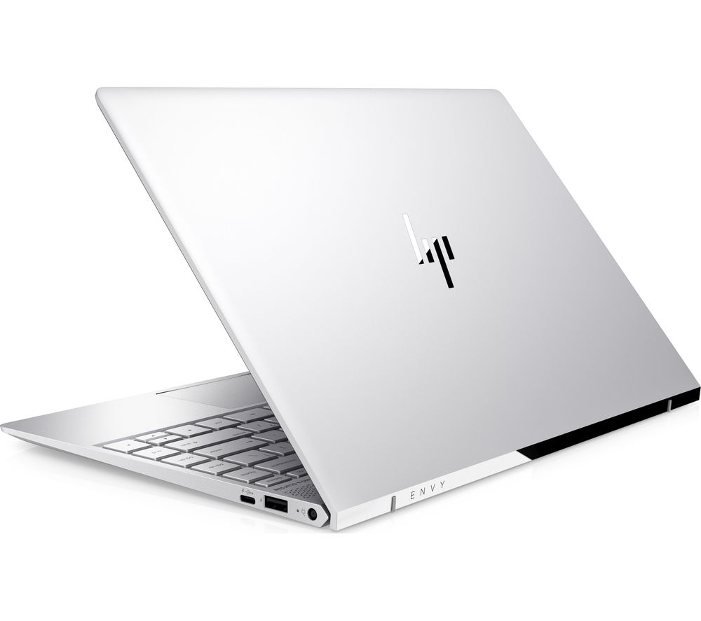 "HP ENVY 13-ad059na 13.3"" Touchscreen Laptop - Silver + Office 365 Home - 1 year for 5 users + LiveSafe Premium 2018 - 1 user / unlimited devices for 1 year"